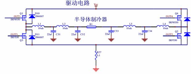 上面的场效应管irf530和irf9530可以用640和9640替换