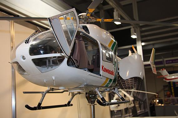 (图)日本bk117 c2直升机前舱门