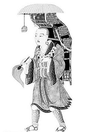 唐僧手绘图片图片