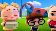 三只小猪与神灯(片段)小猪们竟然把垃圾当宝物!