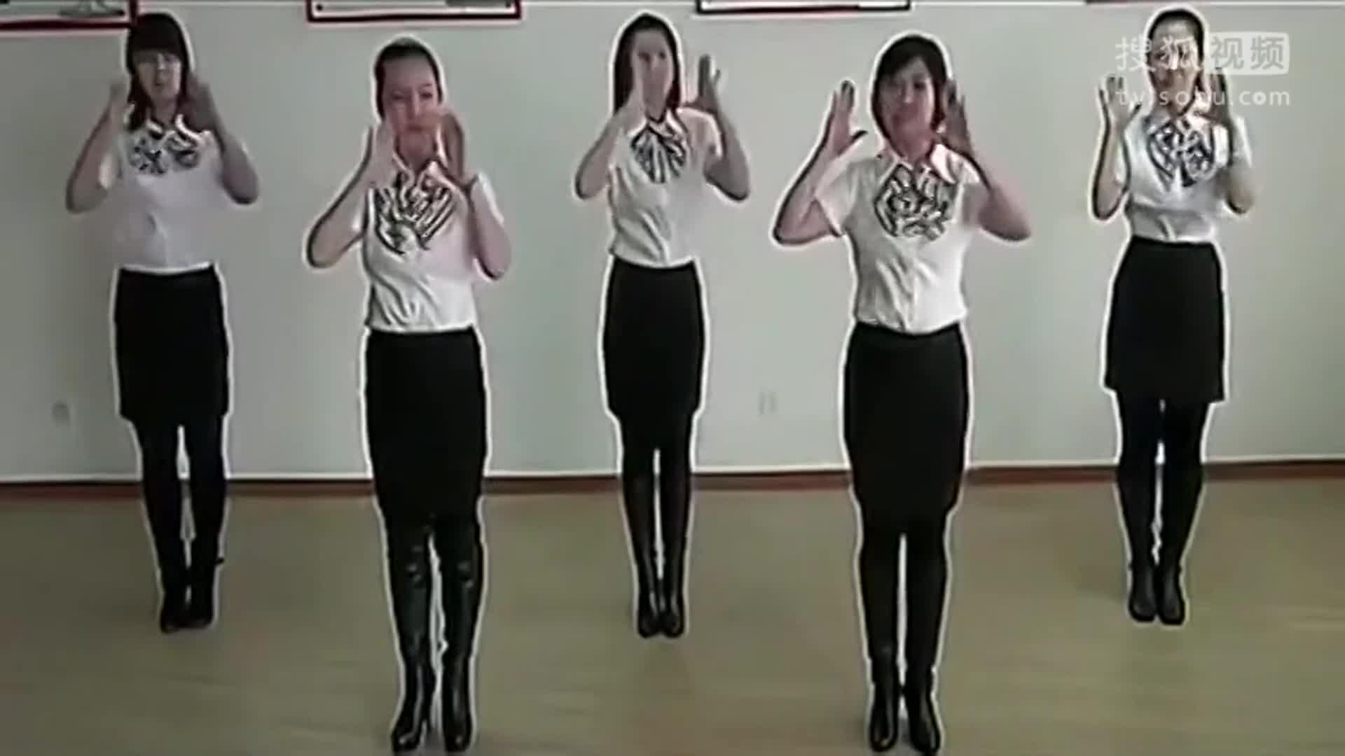 感恩的心手语视频 手语舞蹈