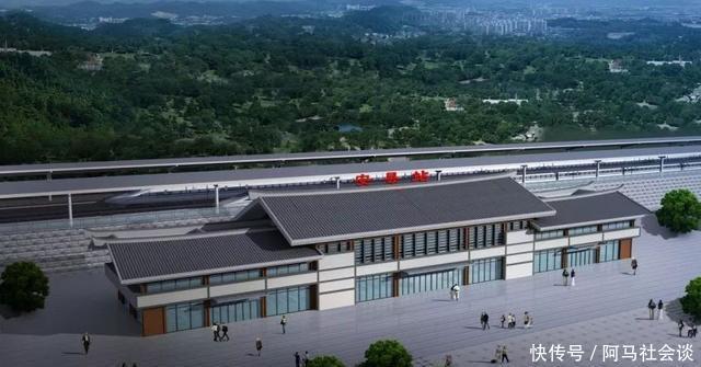 成兰铁路2020年开通,绵阳安州站1小时可达九寨沟