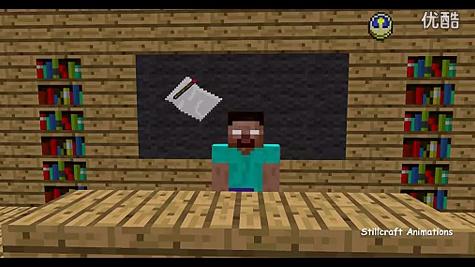 我的世界动画片 怪物学校绘画-我的世界动物学校动画片大全图片