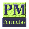 PM Formulas (for PMP exam) trial