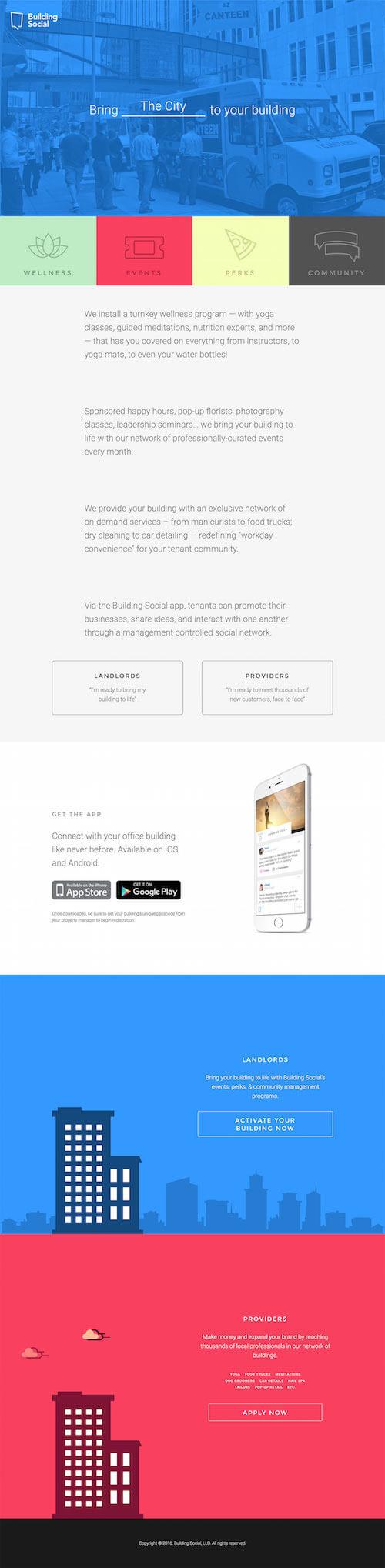 网站最初的静态版面设计图