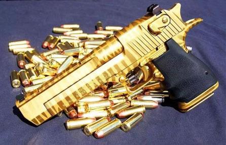 黄金AK也只能排第五 世界上最珍贵的枪械