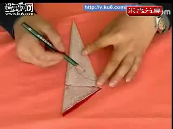剪纸教程 教你剪八折团花教你学剪纸