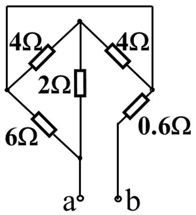 求这个端口的等效电阻rab