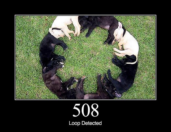 508 Loop Detected