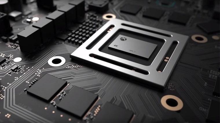 微软Xbox天蝎座主机宣传图