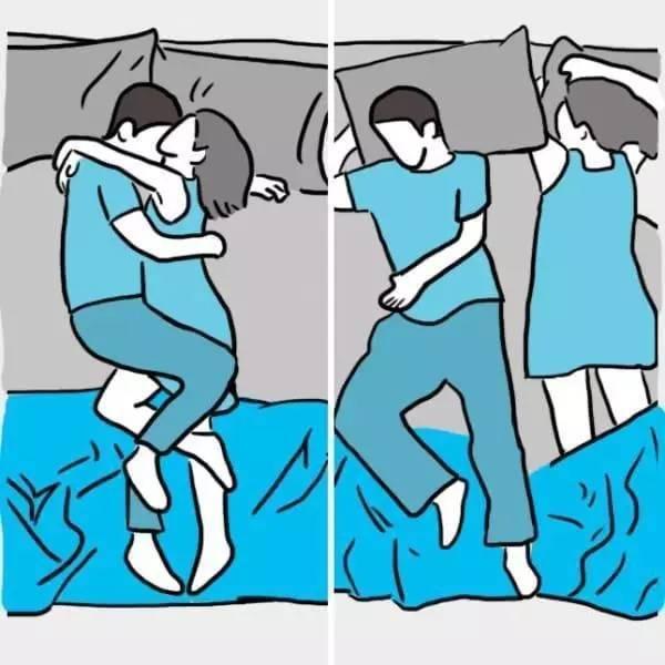 10种夫妻常见的睡觉姿势:第8种夫妻感情最好 - 一统江山 - 一统江山的博客