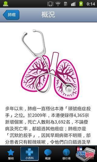 《 严重疾病小百科 》截图欣赏