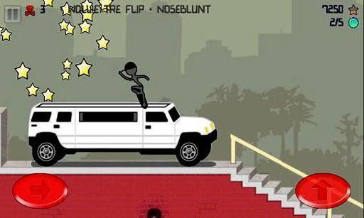 《 火柴人滑板 Stickman Skater Pro 》截图欣赏