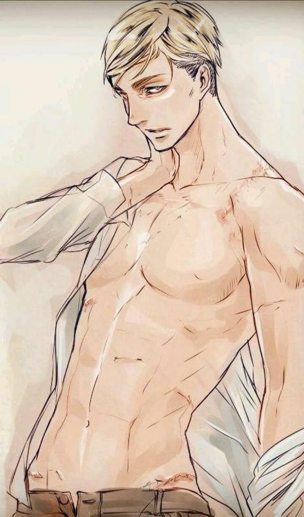 【找图】动漫男生白头发的裸上半身