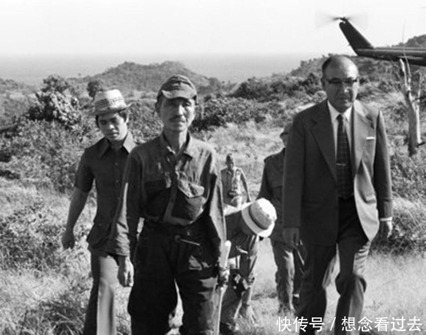 日本兵小野田宽郎在菲律宾荒岛呆了30年,一直