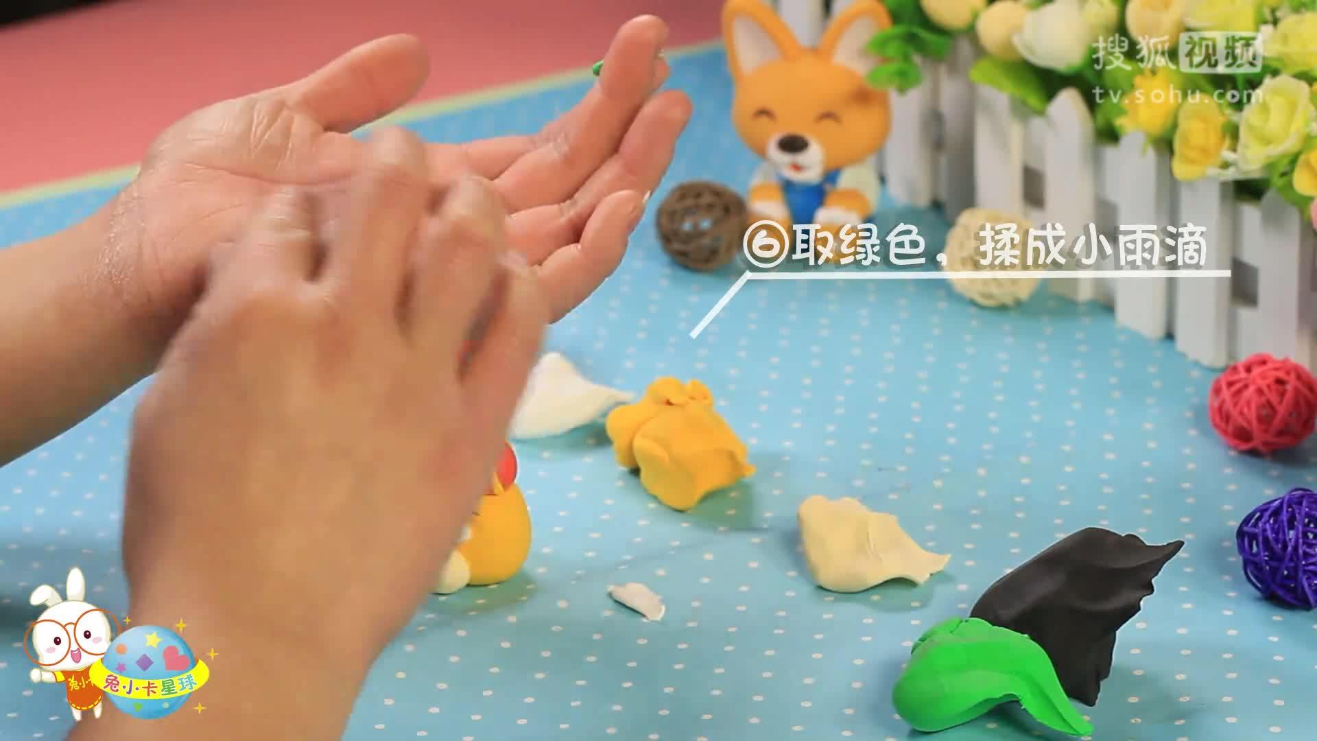 超轻粘土教程儿童手工制作diy十二生肖战士小牛【小卡手工课】