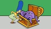 【路米】辛普森一家电锯惊魂玛姬篇,经典密室逃脱解谜游戏Ep4