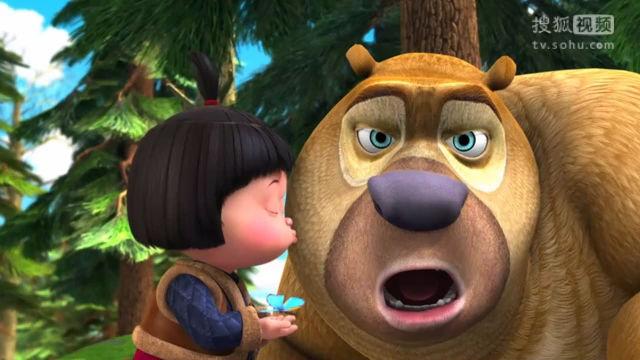 熊二得到嘟嘟的吻 熊出没之夺宝熊兵 熊出没之丛林总动员 光头强.