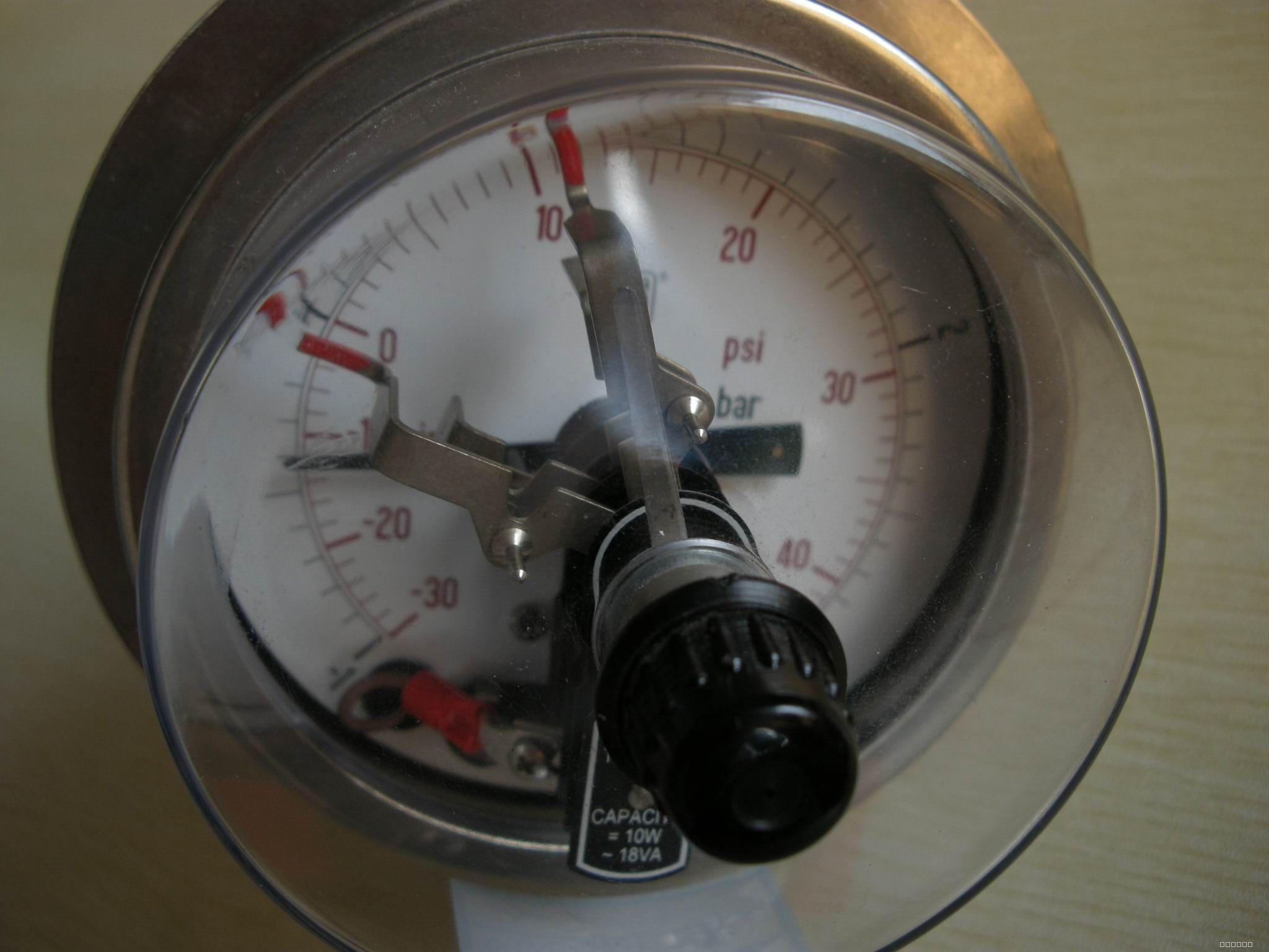 电接点压力表接线图_360百科