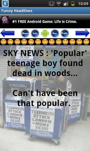 《 500+ Funny Headlines 》截图欣赏