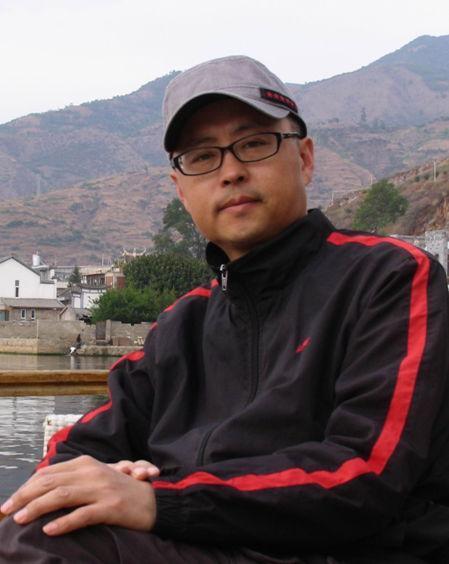 上海老年模特杨光