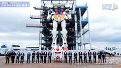 """日本18米可移动高达完成""""上头仪式"""" 将于年内开放"""