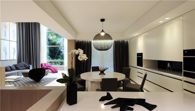 现代立体感超强的室内装修设计