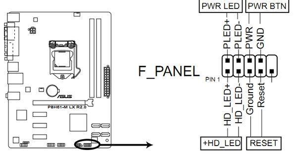 p5vd2 主板 开机电路图
