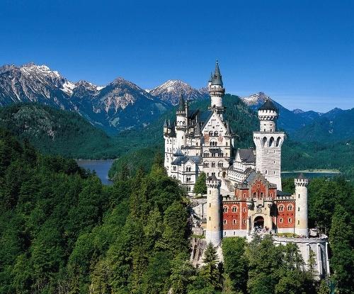 德国巴伐利亚新天鹅堡