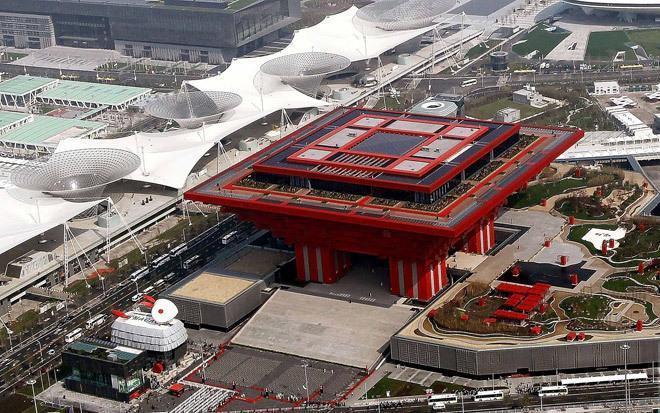 上海世博园-D片区 部分企业馆 E片区 部分企业馆 城市文明馆 城市最