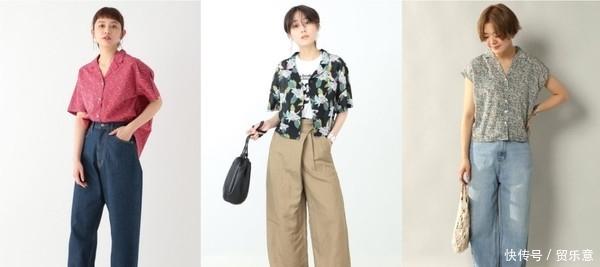 夏日时髦焦点就在「印花衬衫」 搭配不同下装营造可爱女人味