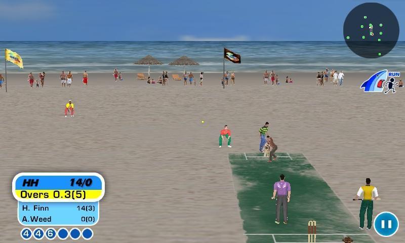 《 沙滩板球 精简版 》截图欣赏
