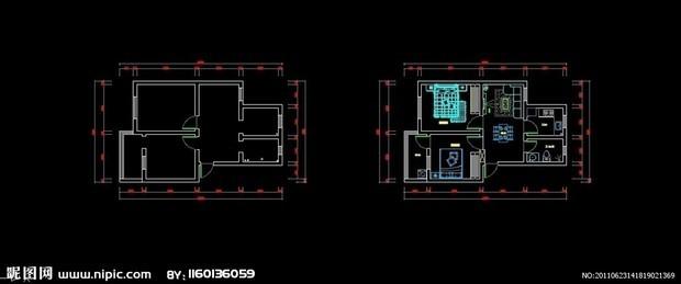 CAD把对齐整的都标注,像图片一样,标注后cad命令是着色什么图片