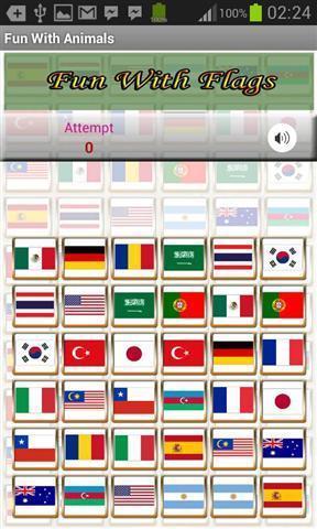《 国旗记忆游戏 》截图欣赏