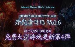 《MHW:I》开发者日记Vol.6 直播预告,免费大型更新第4弹确定于7月9日发布!