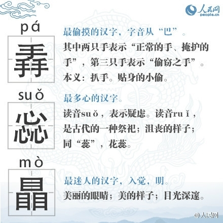 ***史上最难认的22个汉字:会念12个就是神仙 - 浪花皇子 - 浪花皇子