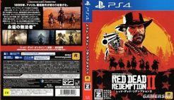 《荒野大镖客:救赎2》日版封面曝光 PS4实体版包含两张蓝光盘
