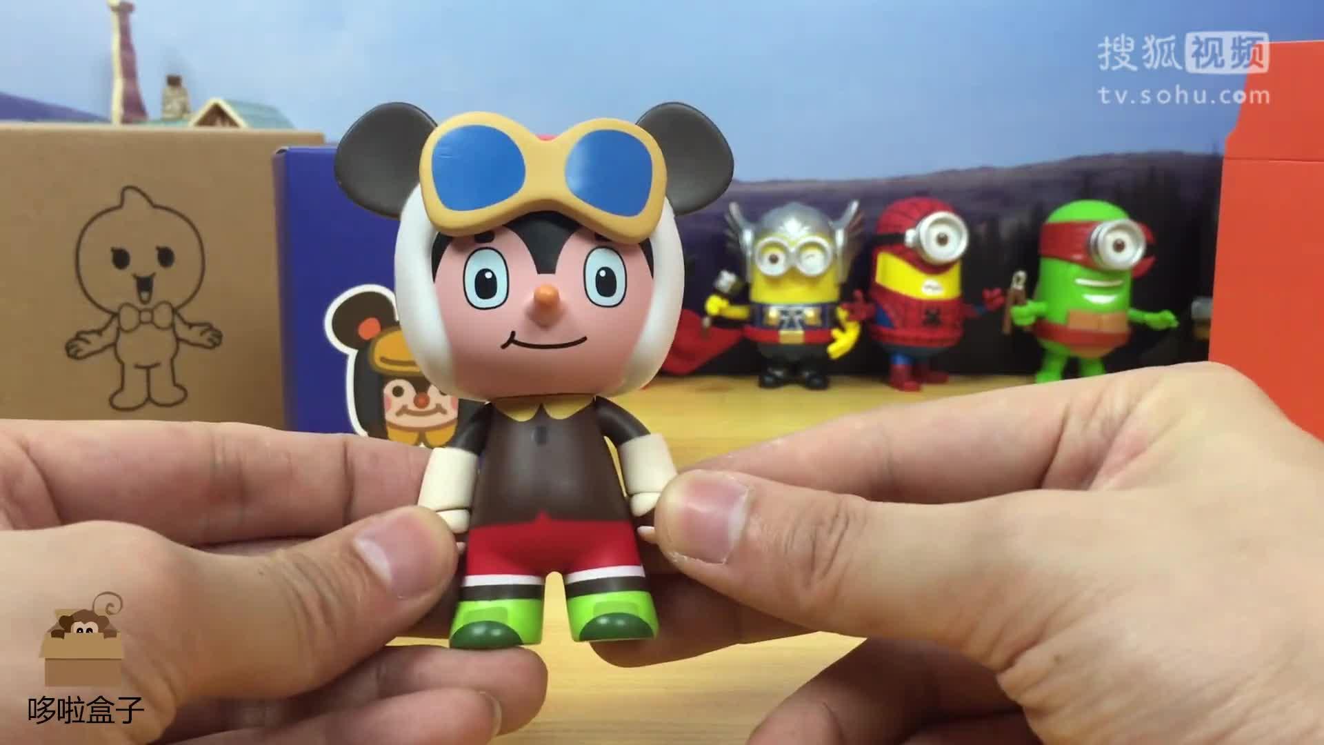 哆啦盒子玩具时间:舒克和贝塔