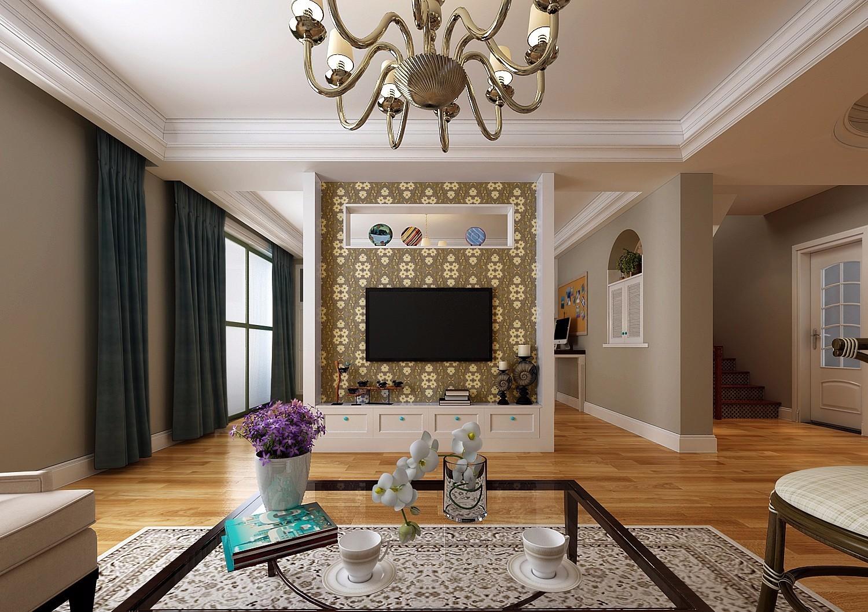 上海长宁区欧式别墅装修庭院的设计特点