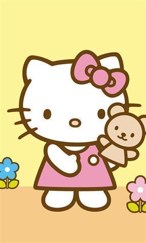 凯蒂猫墙纸_360手机助手