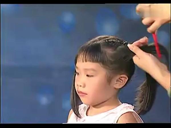 儿童表演节目发型图片展示