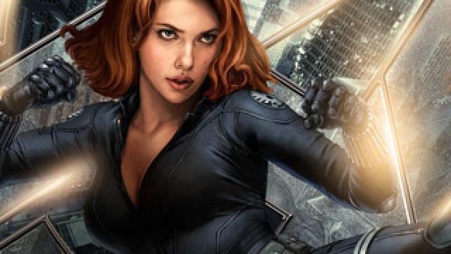 《复仇者联盟2》黑寡妇娜塔莎乱入《这是我的战争》