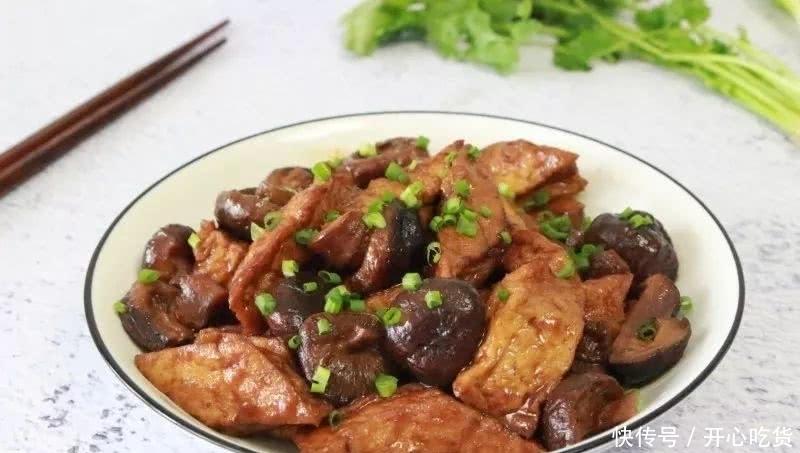 蚝油香菇烧豆腐