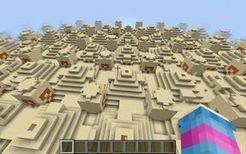 【Minecraft】当建筑生成概率被调成最高。。。