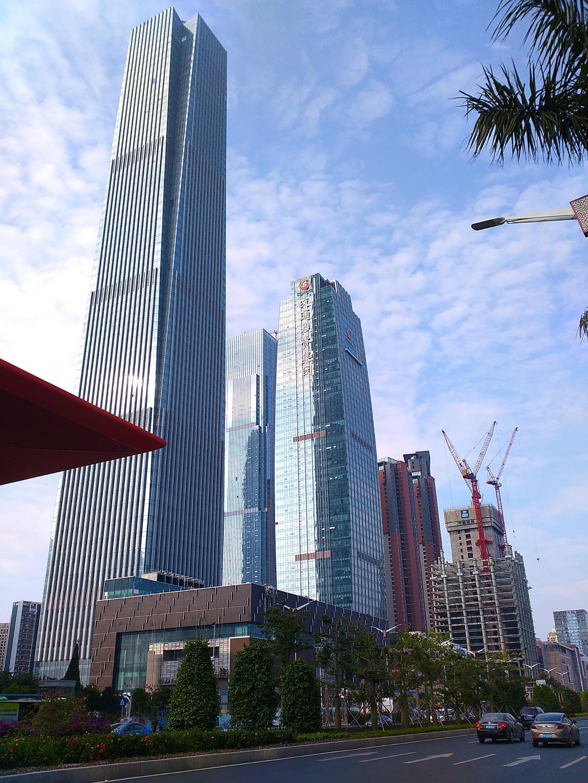 南宁第三高楼,325米广西金融广场赏析