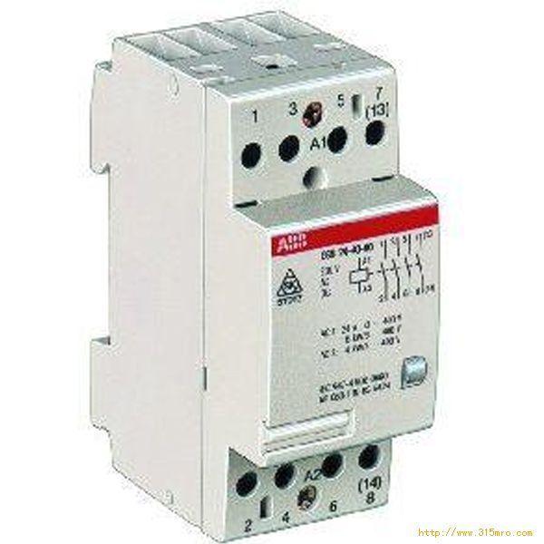 一个380v时间继电器与3380v接触器实物图