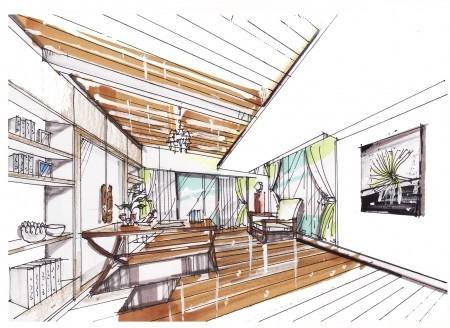 房 空间 手绘设计图