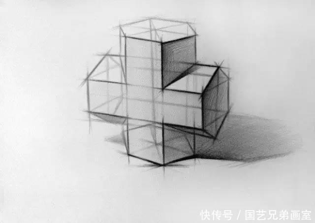 0基础美术入门教程,石膏几何体结构大全收藏了