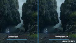 《死亡搁浅》PS4和PS4 Pro画面对比:区别不是太大