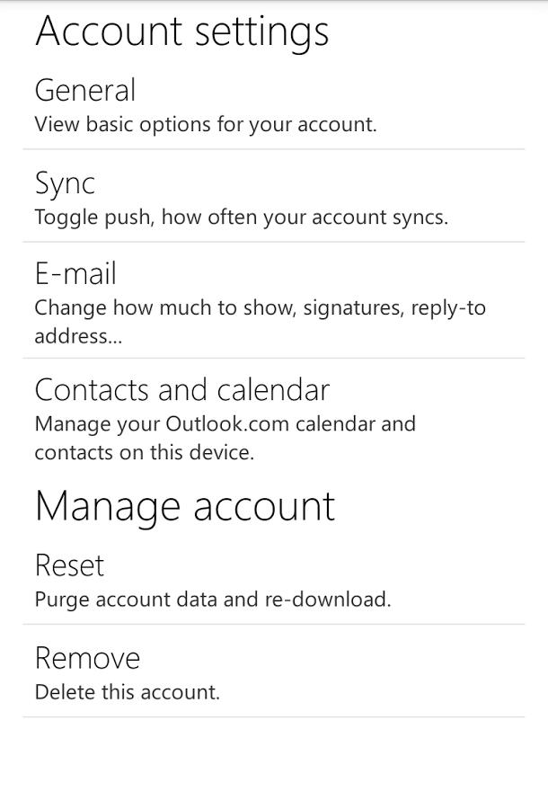 Outlook邮箱截图5